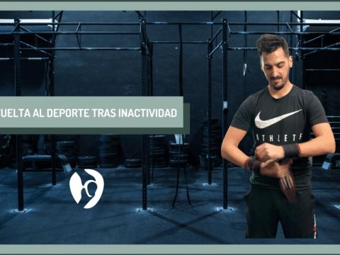 vuelta al deporte tras inactividad Adrián Gallego Goyanes