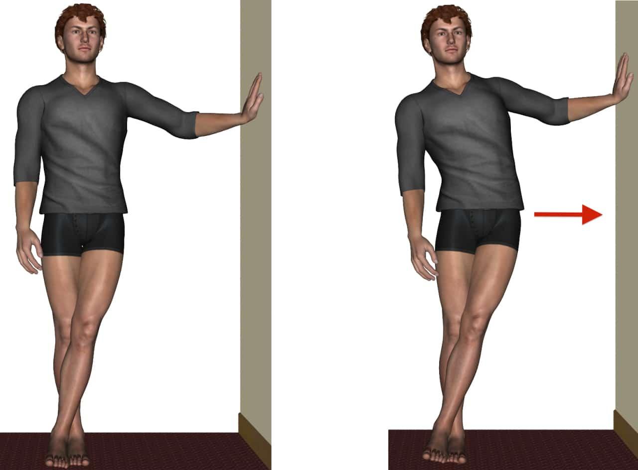 3-estiramiento-iliotibial-apoyado-en-la-pared-2-dibujos