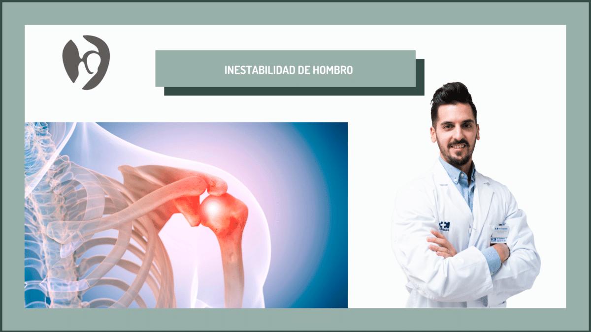 El traumatologo deportivo Adrián Gallego Goyanes profundiza sobre la inestabilidad de hombro